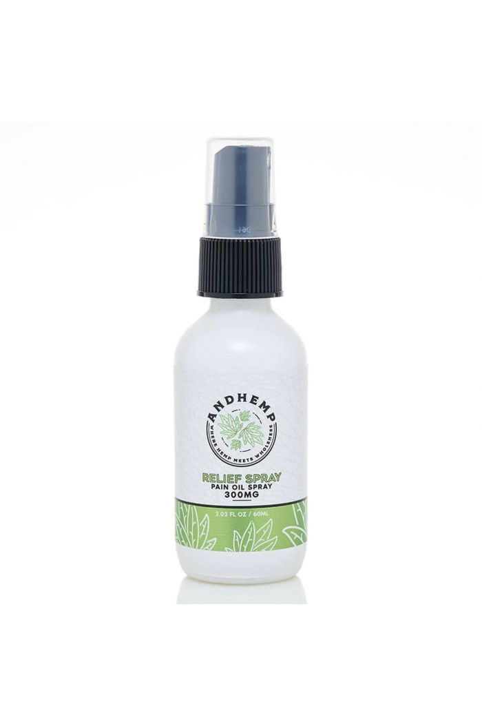 AndHemp Broad Spectrum CBD Oil Pain Spray - Relief - 300mg Small Product Picture