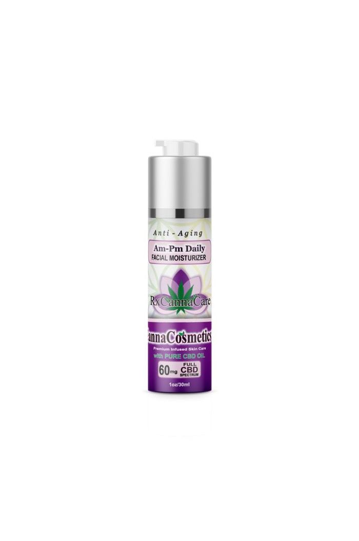 Canna Cosmetics Full Spectrum CBD AM/PM Anti-Aging Daily Moisturizer With Hyaluronic Acid - 60mg