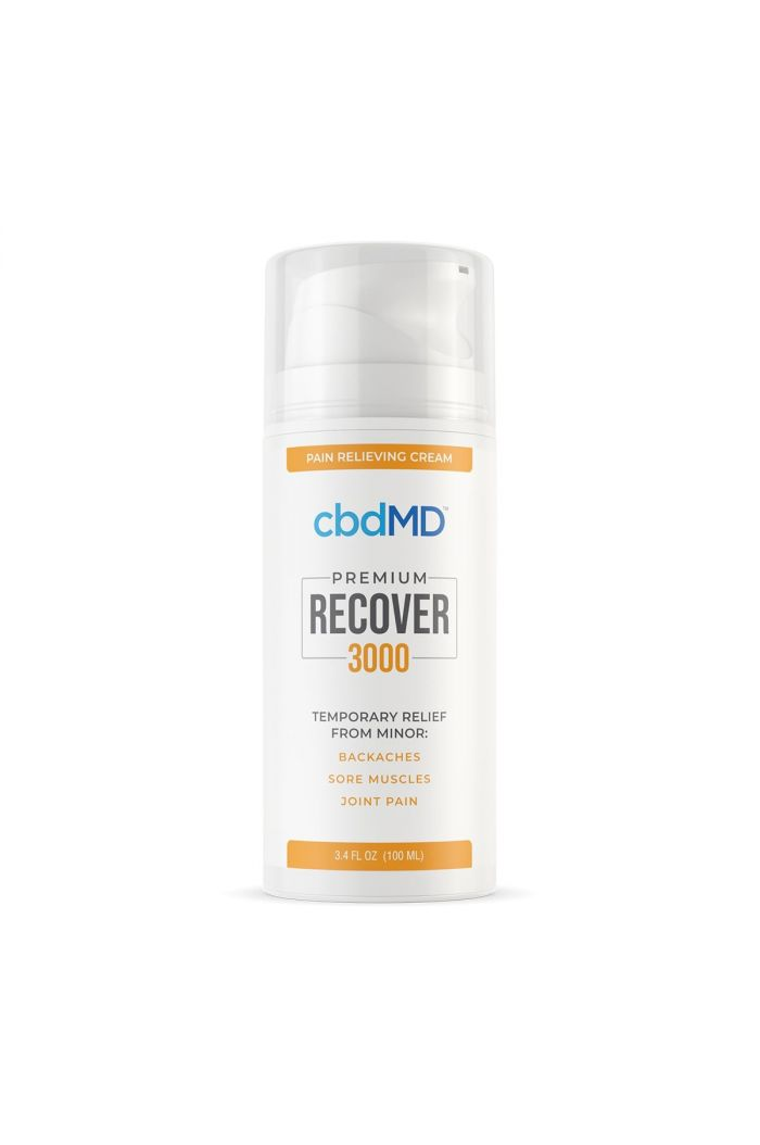 cbdMD Recover Pain Relieving Cream - 3000mg
