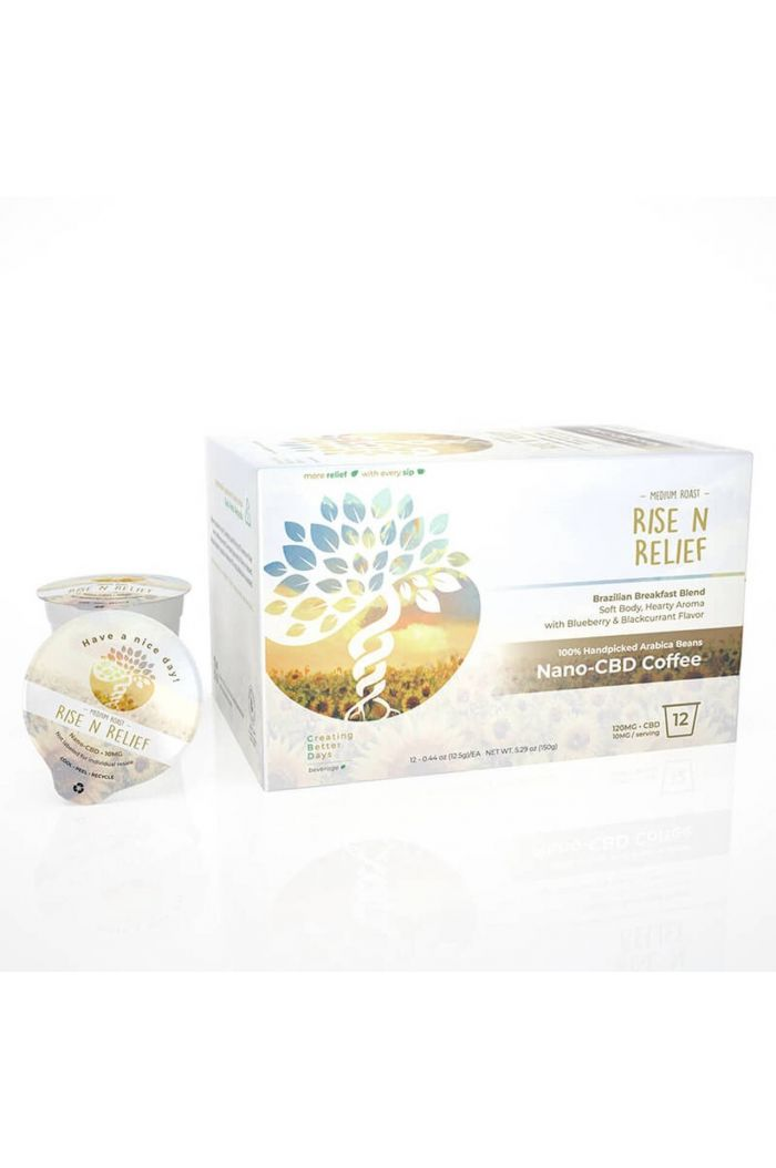Creating Better Days CBD Coffee Pods - Compatible with K-Cup - Rise N Relief Small Product Picture