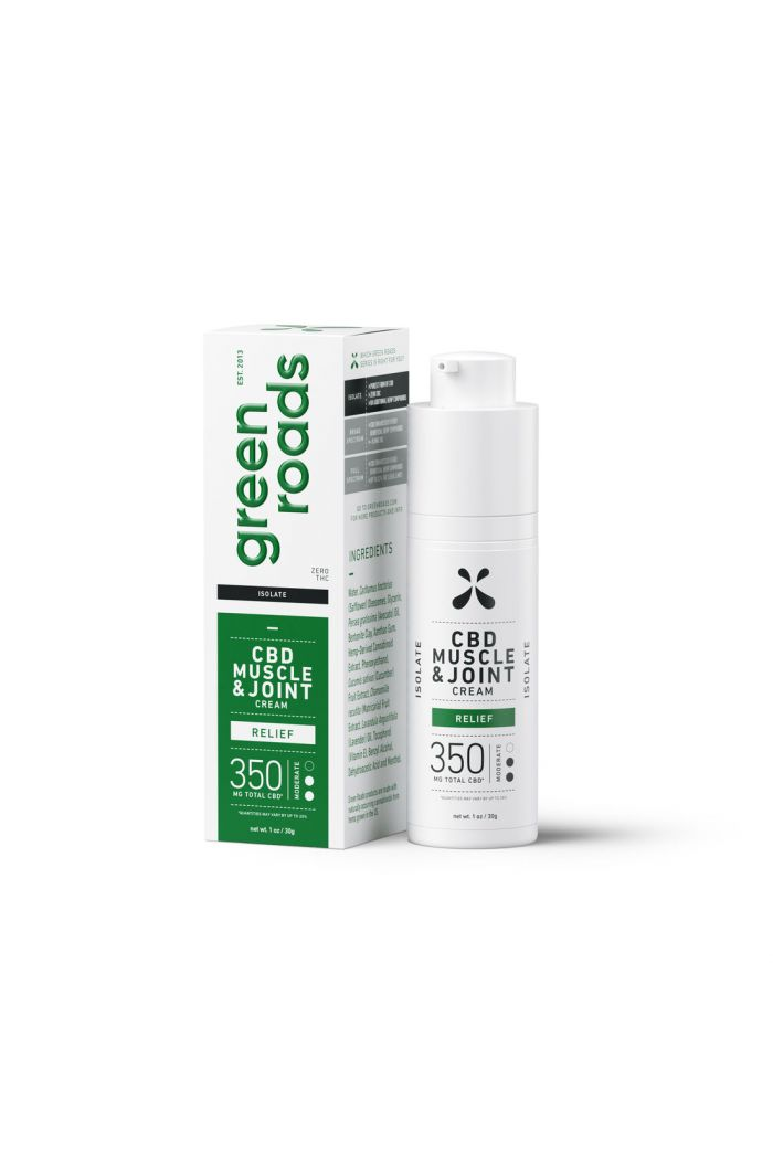 Green Roads Muscle & Joint CBD Cream - Relief - 350mg
