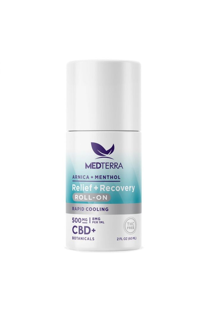 Medterra CBD Relief + Recovery Roll On - 500mg - 2 fl oz