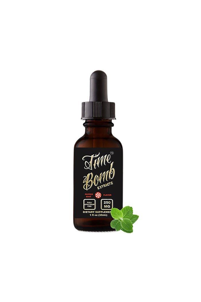 Time Bomb Extracts CBD Tincture - Peppermint Thumbnail
