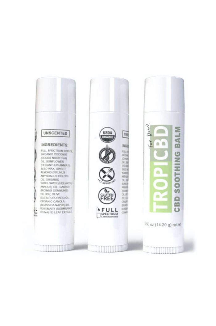 TropiCBD Full Spectrum CBD Pet Soothing Balm Small Product Picture